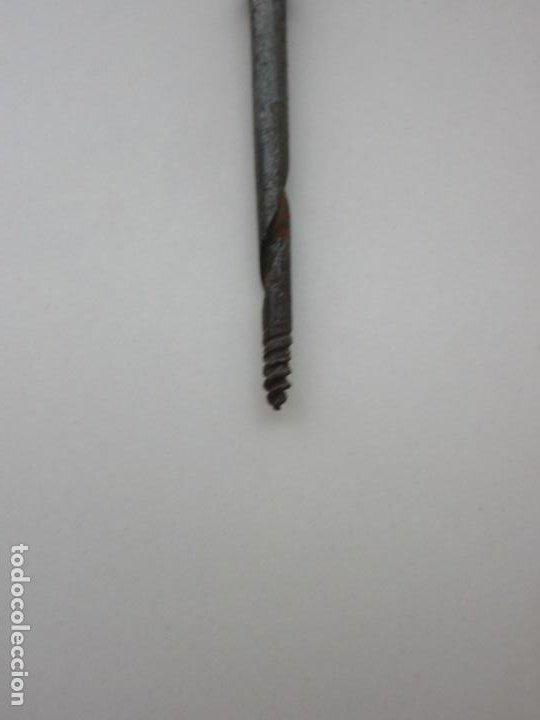 Antigüedades: Neceser de Viaje - Militar - Empuñaduras en Hueso - con Tintero, Navajas Afeitar, etc - S. XIX - Foto 9 - 194281241