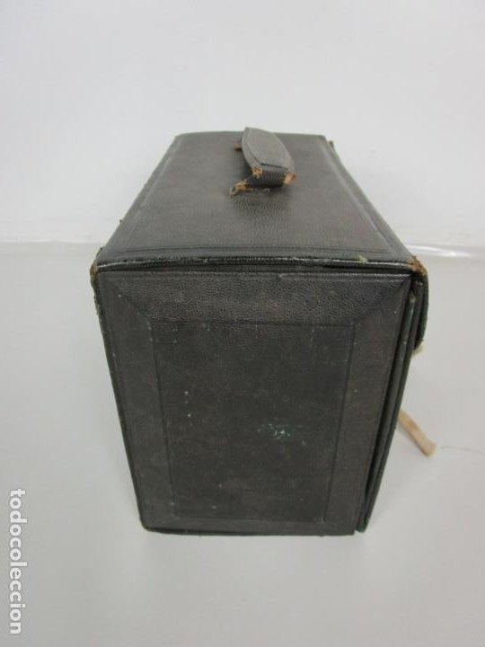 Antigüedades: Neceser de Viaje - Militar - Empuñaduras en Hueso - con Tintero, Navajas Afeitar, etc - S. XIX - Foto 55 - 194281241