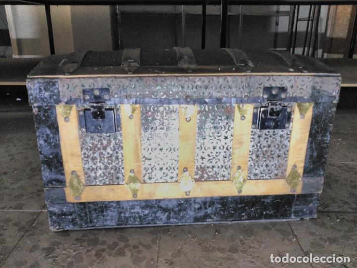 BAÚL (Antigüedades - Muebles Antiguos - Baúles Antiguos)