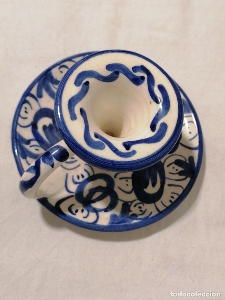 Antigüedades: Antigua Palmatoria esmaltada - Foto 3 - 194281418