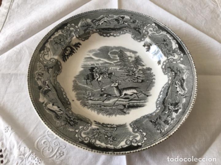 Antigüedades: Pareja de platos Cartagena - Foto 2 - 194281991