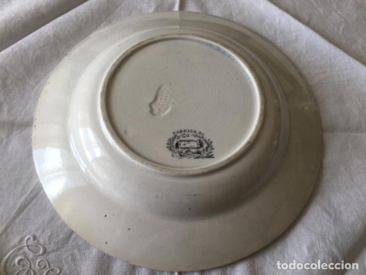 Antigüedades: Pareja de platos Cartagena - Foto 3 - 194281991