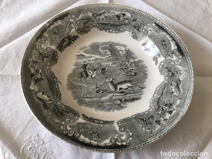 Antigüedades: Pareja de platos Cartagena - Foto 4 - 194281991