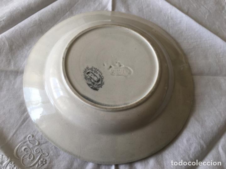 Antigüedades: Pareja de platos Cartagena - Foto 5 - 194281991