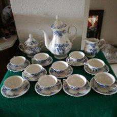 Antigüedades: JUEGO DE CAFE PORCELANA ROYAL CHINA. Lote 194283552
