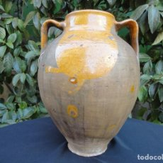 Antigüedades: ALFARERÍA CASTELLANA: GRAN ORZA CENTRO DESCONOCIDO. Lote 194290643