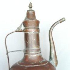 Antigüedades: JARRA DE COBRE GRANDE ANTIGUA RUSTICA. Lote 194291775