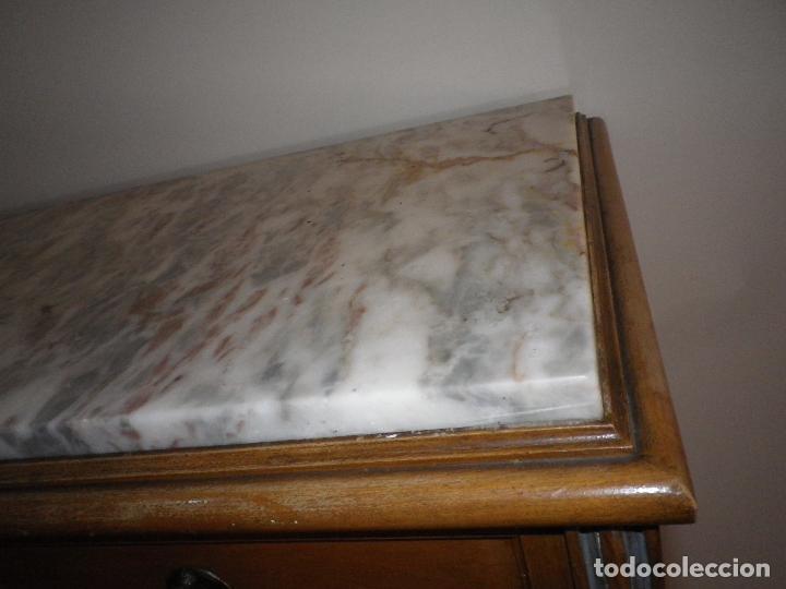 Antigüedades: Mueble madera, escritorio, canterano, cómoda, chifonier, boureau, secreter. - Foto 7 - 194293898
