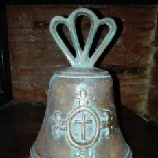 Antigüedades: CAMPANA DE BRONCE. Lote 194297803