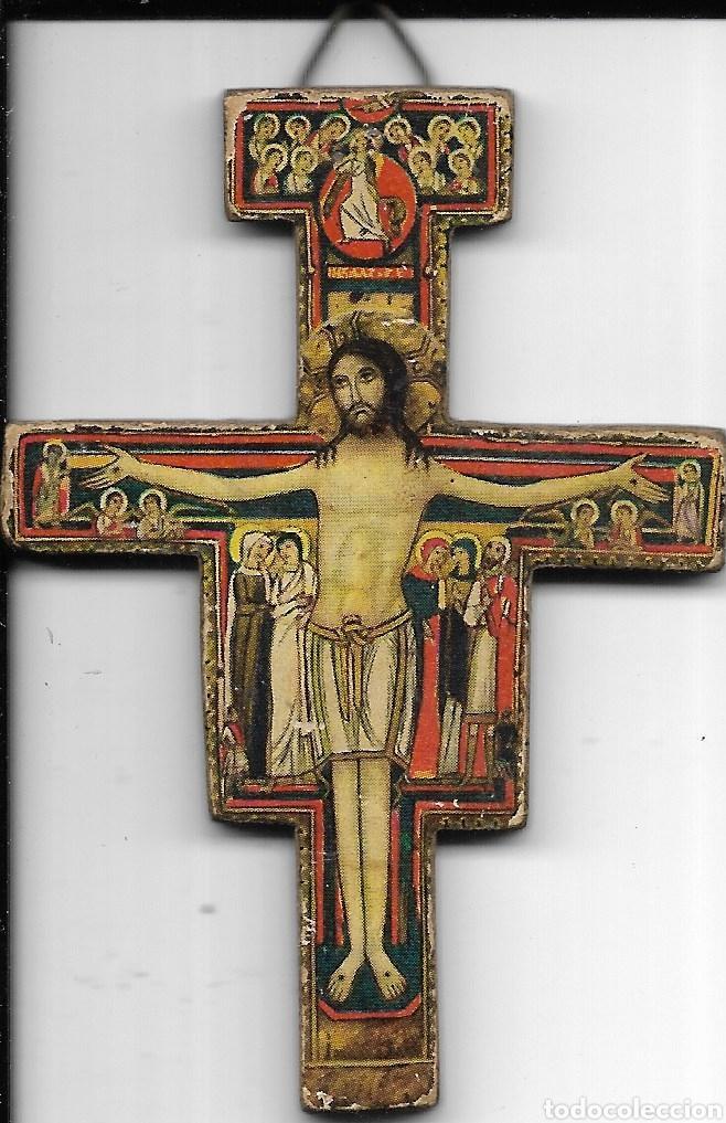 *JR15 - CRUZ - 6CM X 4 CM (Antigüedades - Religiosas - Cruces Antiguas)