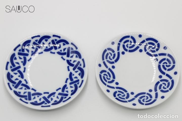 SARGADELOS PLATOS PEQUEÑOS (Antigüedades - Porcelanas y Cerámicas - Sargadelos)