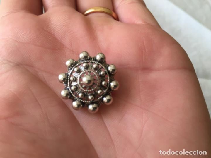 Antigüedades: Broche de Plata Charro - Foto 4 - 194311953