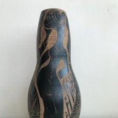 Antigüedades: PEDRO MERCEDES CUENCA. JARRON DE CERÁMICA. Lote 194312823