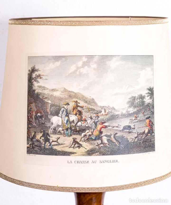 Antigüedades: Lámpara Vintage De Pie - Foto 6 - 194317525