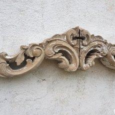 Antigüedades: GRAN ANTIGUO REMATE O MOÑA PARA RESTAURACION. Lote 194320572