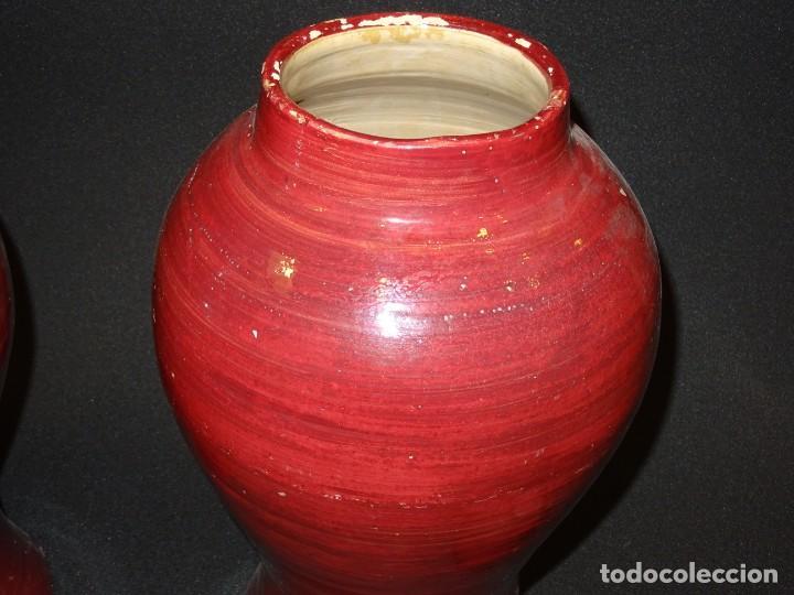 Antigüedades: Pareja de jarrones Indios, S.XIX - Foto 9 - 194320975