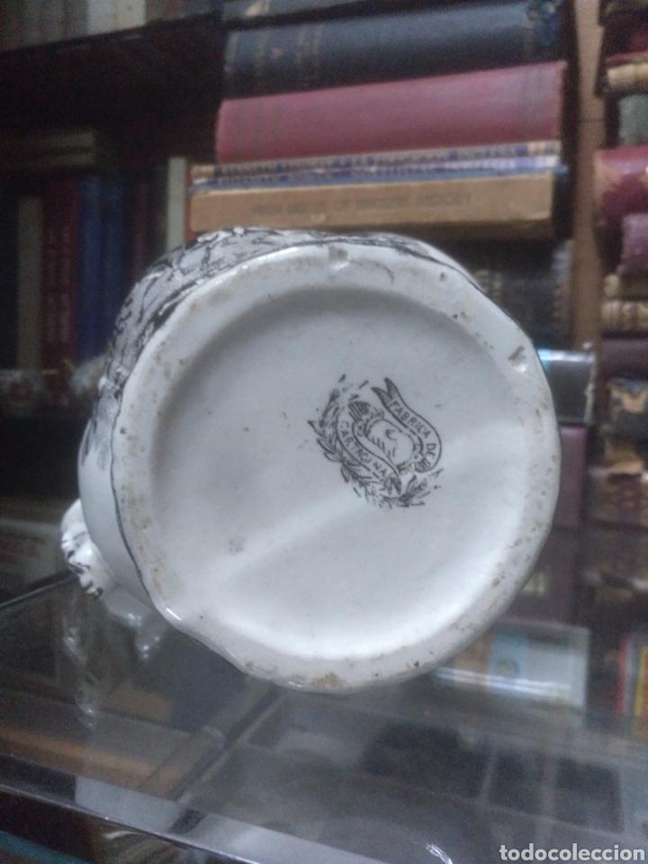 Antigüedades: Jarra de cerámica de Cartagena siglo XIX - Foto 2 - 194321332