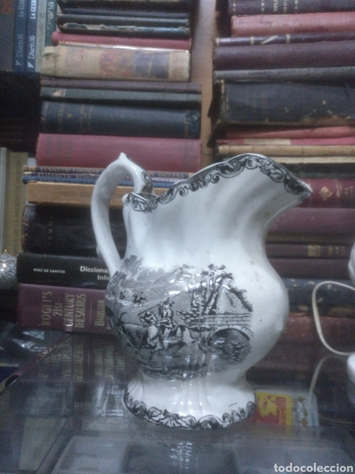 Antigüedades: Jarra de cerámica de Cartagena siglo XIX - Foto 3 - 194321332