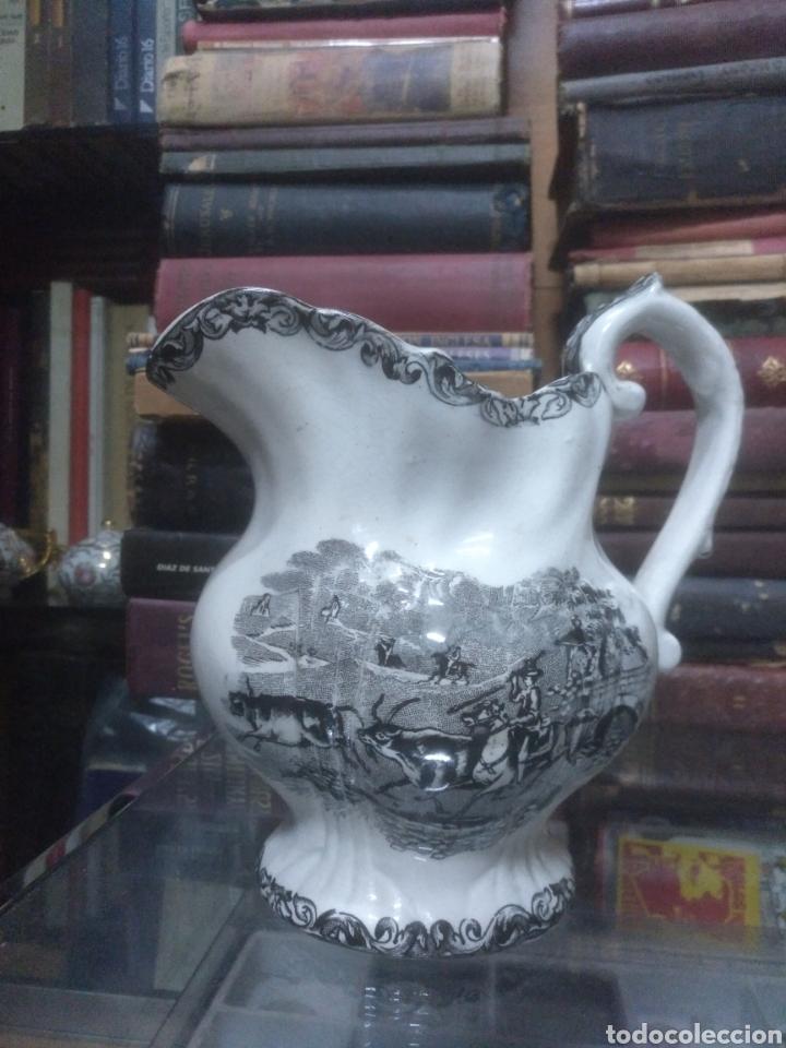 JARRA DE CERÁMICA DE CARTAGENA SIGLO XIX (Antigüedades - Porcelanas y Cerámicas - Cartagena)