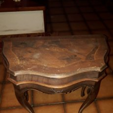 Antigüedades: MESA AUXILAR TIPO LUIS XV. Lote 194322642