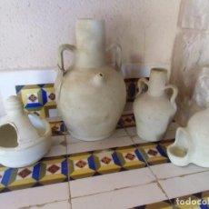 Antigüedades: LOTE CERAMICA POPULAR ALICANTINA,BARRO BLANCO,ZONA AGOST.. Lote 194322938