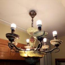 Antigüedades: LAMPARA. Lote 194323612