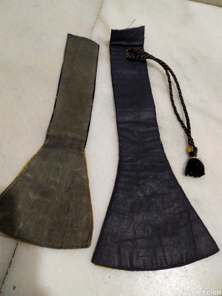 Antigüedades: antigua estola en oro recortada capellan años 40 - Foto 6 - 194327015