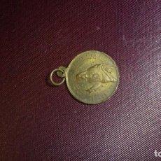 Antigüedades: ANTIGUA MEDALLA DE BRONCE S. FILIPPO NERI 3X2 CM. . Lote 194327387