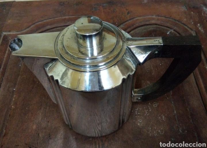 Antigüedades: Juego de café bañado en plata Hijo de B. Capo varet Barcelona - Foto 5 - 194328041