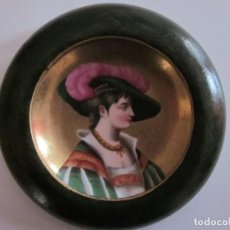 Antigüedades: ANTIGUO PLATO PORCELANA FRANCESA.. Lote 194332884