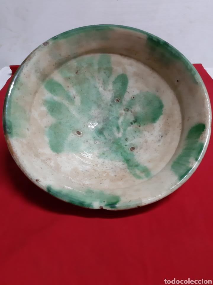 ANTIGUO CUENCO DE CERÁMICA GRANADINA (Antigüedades - Porcelanas y Cerámicas - Otras)