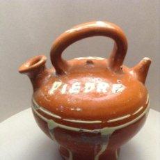 Antigüedades: BOTIJO DE LA BISBAL(FALTA ORTOGRÁFICA). Lote 194339282