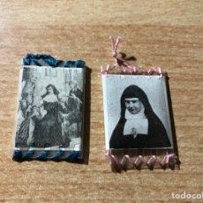 Antigüedades: RELICARIOS BEATA RAFAELA MARÍA DEL SANTÍSIMO CORAZÓN Y BEATA TERESA DE JESÚS JORNET. Lote 194341711