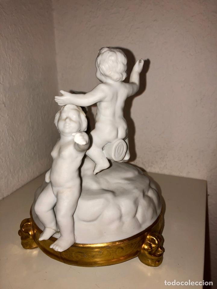 BISCUIT BIDASOA TRES NIÑOS (Antigüedades - Porcelanas y Cerámicas - Otras)
