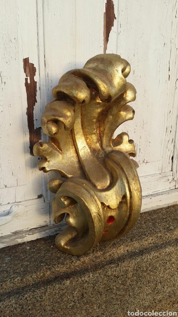 Antigüedades: Ménsula grande de madera siglo XIII - Foto 3 - 194353700