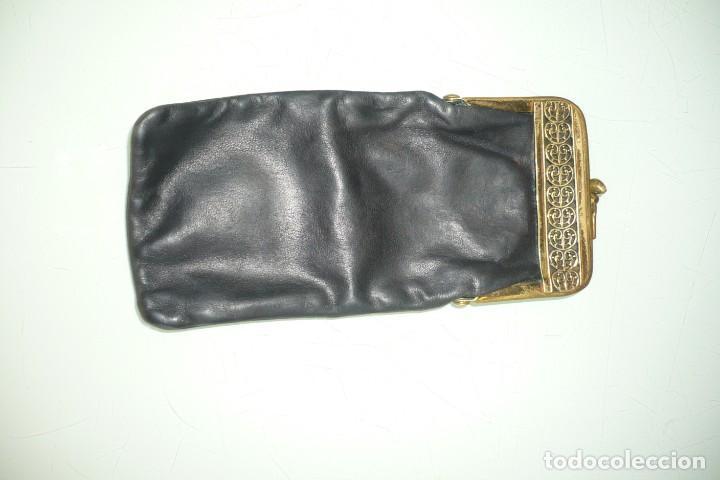 Antigüedades: Antigua Funda de Gafas Con cierre Metálico - Foto 2 - 194353857