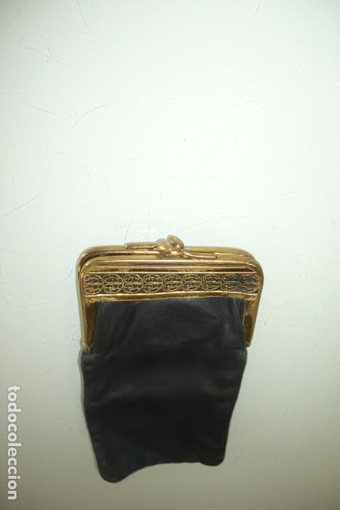 Antigüedades: Antigua Funda de Gafas Con cierre Metálico - Foto 3 - 194353857