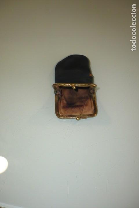 Antigüedades: Antigua Funda de Gafas Con cierre Metálico - Foto 5 - 194353857