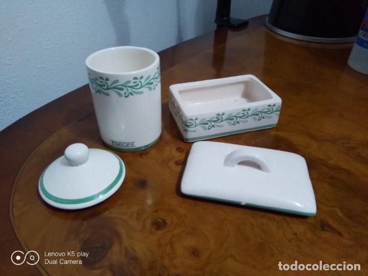 Antigüedades: Lote recipientes cerámica - Foto 2 - 194358183
