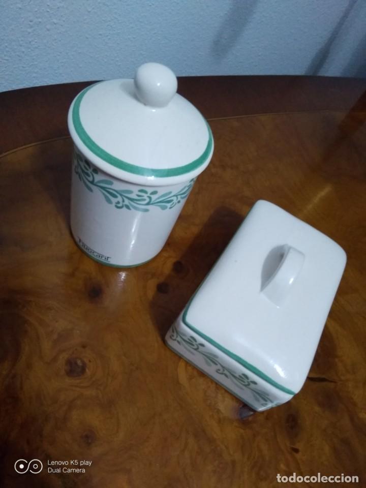Antigüedades: Lote recipientes cerámica - Foto 3 - 194358183