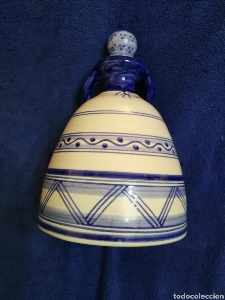 Antigüedades: Mujer campana ceramica la menora talavera - Foto 3 - 194360747