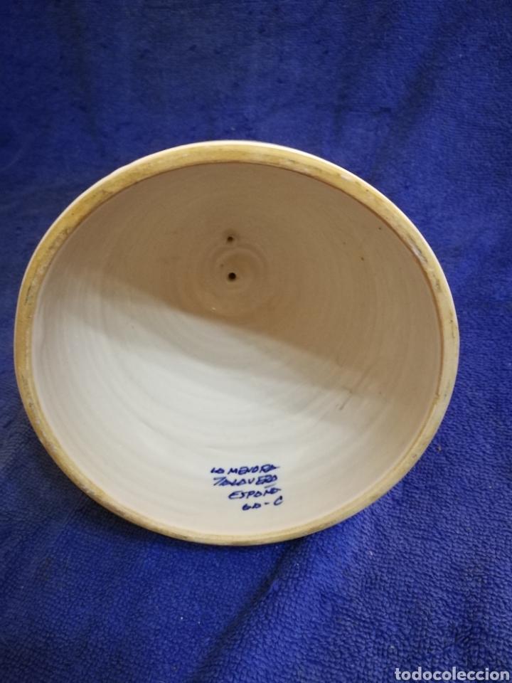 Antigüedades: Mujer campana ceramica la menora talavera - Foto 4 - 194360747