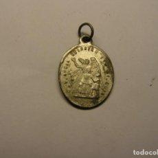 Antigüedades: MEDALLA RELIGIOSA ANTIGUA, SAN JOSÉ Y ANGEL DE LA GUARDIA. SIGLO XIX.. Lote 194361248