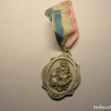 Antigüedades: MEDALLA RELIGIOSA ANTIGUA, Nª Sª DEL ROSARIO. ROSARIO PERPETUO.. Lote 194361570