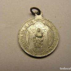 Antigüedades: MEDALLA RELIGIOSA ANTIGUA, Nª Sª DE LOS DOLORES Y SANTA RITA.. Lote 194361665
