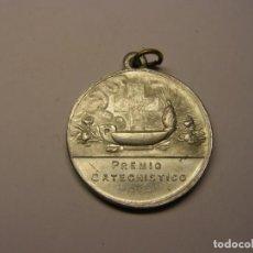 Antigüedades: MEDALLA RELIGIOSA ANTIGUA, PREMIO CATEQUÍSTICO.. Lote 194361738