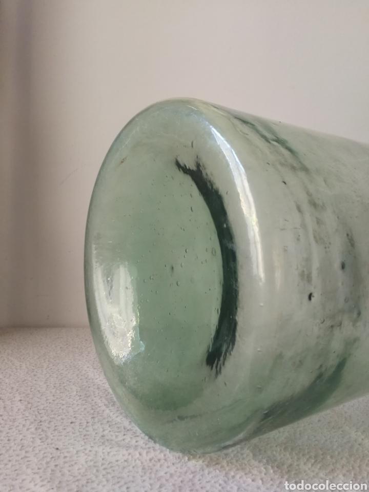 Antigüedades: Rara y Difícil Garrafa de Medicina o Laboratorio Científico. 50 cm. de altura. - Foto 5 - 194367022