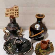 Antigüedades: ANTIGUAS PALMATORIAS LOTE DE 4 MAGNIFICAS. Lote 194385301