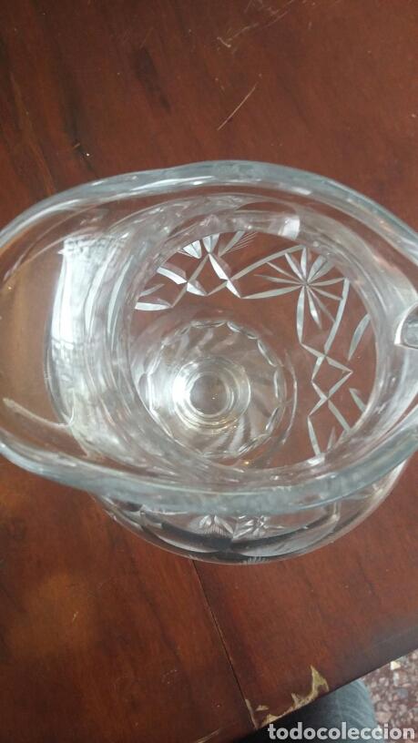 Antigüedades: Jarra cristal - Foto 6 - 194386025