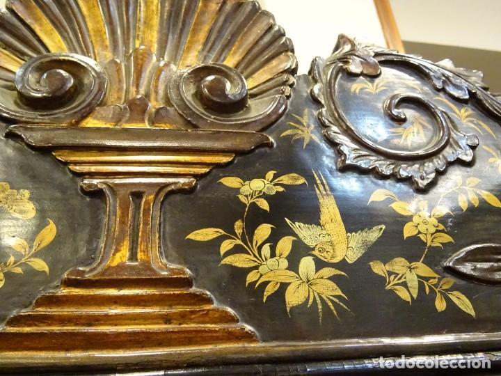 Antigüedades: Cabinet Chino, S.XVIII, lacado y dorado - Foto 64 - 194392393